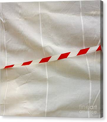 Tarpaulin Canvas Print by Bernard Jaubert