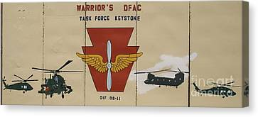 Task Force Keystone Canvas Print by Unknown