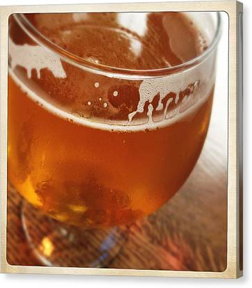 Frosty Mug Canvas Print - Tasty Glass Of Beer by Lori Knisely