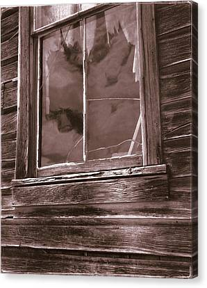 Tattered Clouds - Bodie Canvas Print by Jan W Faul