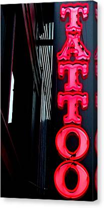 Tattoo Granville Canvas Print by Randall Weidner