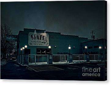 Tav On The Ave Canvas Print