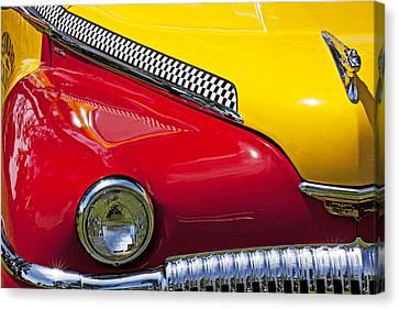 Jalopy Canvas Print - Taxi De Soto by Garry Gay