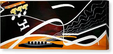 Taylors Curves... Canvas Print by Guadalupe Herrera