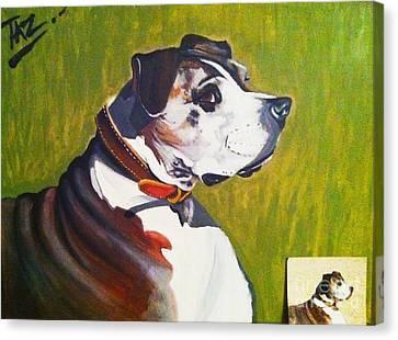 Taz Canvas Print by Jeffrey Kyker