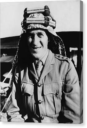 T.e. Lawrence 1888-1935, Popularly Canvas Print by Everett