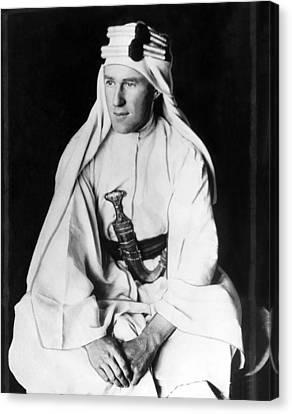 T.e. Lawrence Aka Lawrence Of Arabia Canvas Print by Everett