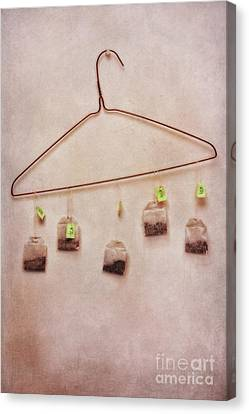 Still Lives Canvas Print - Tea Bags by Priska Wettstein