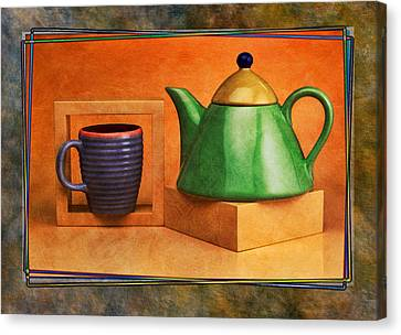 Tea  Canvas Print by Mauro Celotti