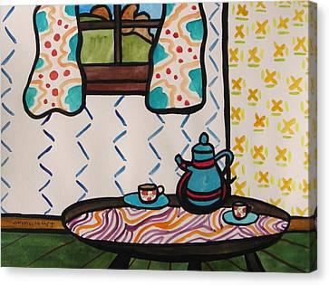 Tea Time Canvas Print by John Williams