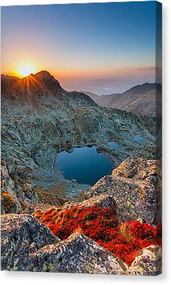 Tears Of The Giant Canvas Print by Evgeni Dinev
