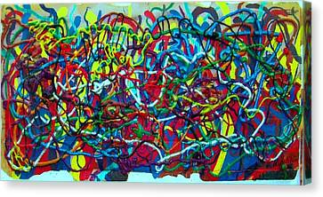 Techno Biological Mutation  Canvas Print by Boaz Klachkin