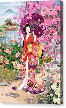 Teien Canvas Print by Haruyo Morita