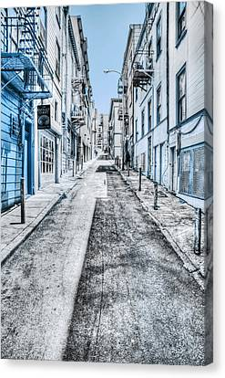Telegraph Hill Blue Canvas Print