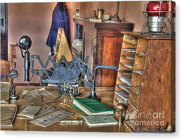 Telegraph Office At Kelso Canvas Print by Bob Christopher