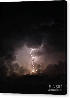 Tempest Canvas Print by Billie-Jo Miller