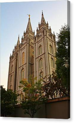 Temple Canvas Print by Bruce Bley