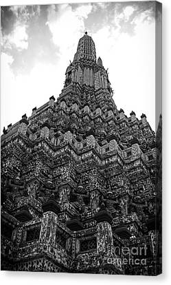 Temple Pillar Canvas Print