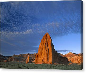 Temples Of The Sun And Moon Canvas Print by Tim Fitzharris