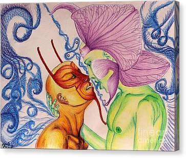 Temptation Canvas Print by Isaac Lopez