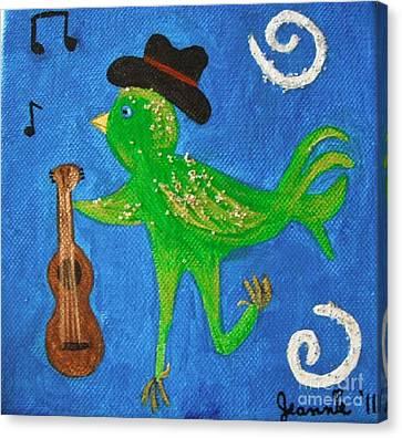 Tennessee Birdwalk Canvas Print by Jeannie Atwater Jordan Allen