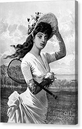 Tennis, 1887 Canvas Print by Granger