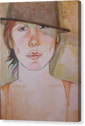 Terra Canvas Print by Elaine Bawden