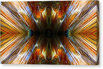 Terrestrial Rays Canvas Print