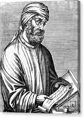 Tertullian (c160-c230) Canvas Print