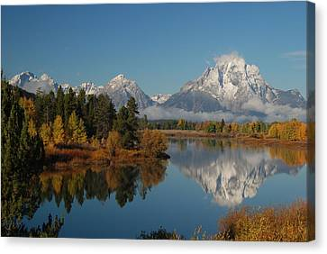 Teton Autumn Canvas Print by Craig Ratcliffe