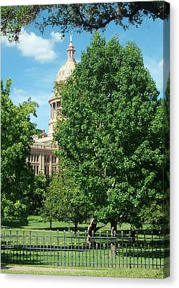 Texas Capitol Building In Austin Canvas Print