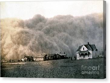 Texas Dust Storm, 1935 Canvas Print by Science Source