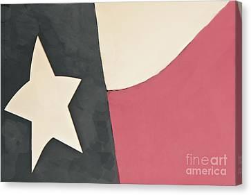 Texas My Home Canvas Print by Kim Henderson