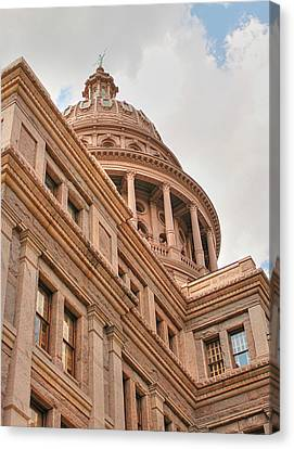 Texas State Capitol Building In Austin IIi Canvas Print by Sarah Broadmeadow-Thomas