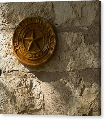 Texas State Seal Canvas Print by Michael Flood