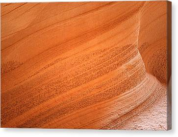 Texture And Light - Antelope Canyon Canvas Print by Christine Till