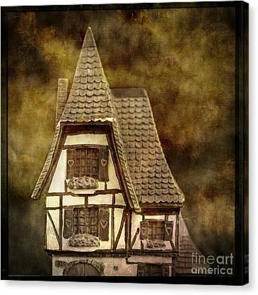 Textured House Canvas Print by Bernard Jaubert