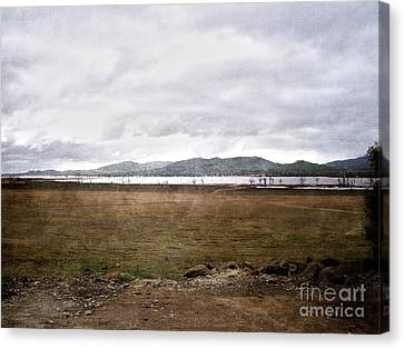 Textured Land Canvas Print by Joanne Kocwin
