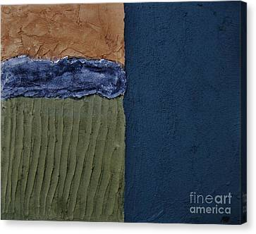Mix Medium Canvas Print - Textures Four Ll by Marsha Heiken
