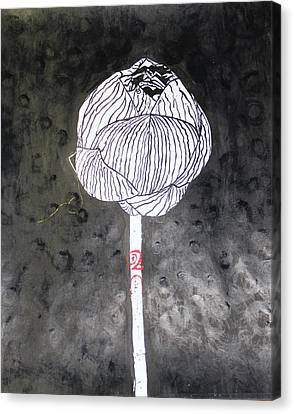 Thai Rose Canvas Print by White Space