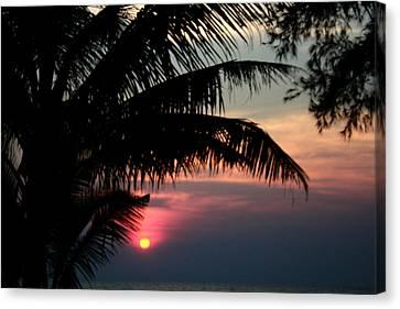 Thai Sunset On Koh Kut 1 Canvas Print