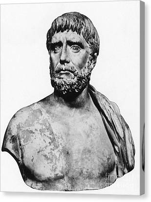Thales, Ancient Greek Philosopher Canvas Print by Science Source