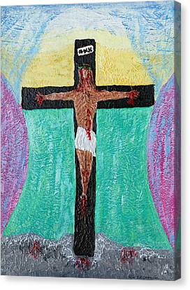 Thank God For Good Friday Nineteen Ninety Nine Canvas Print by Carl Deaville