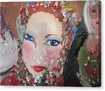 Thank You Helen Canvas Print by Judith Desrosiers