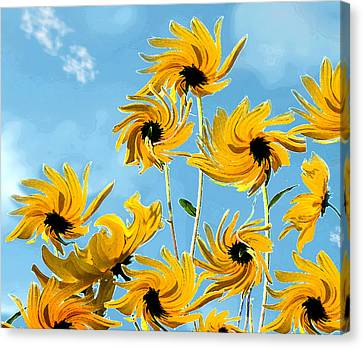 Canvas Print featuring the photograph Thank You Vincent by Deborah Smith