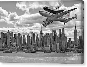 Black Canvas Print - Thanks For The Show by Susan Candelario