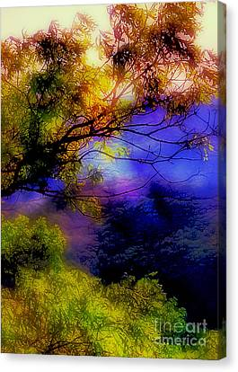 That Mountain Light Canvas Print by Judi Bagwell