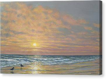 That Razzle Dazzle Time Of Day Canvas Print by Kathleen McDermott