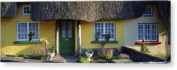 Thatched Cottage, Adare, Co Limerick Canvas Print by The Irish Image Collection