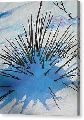 Thaw Canvas Print by Sandy Tracey